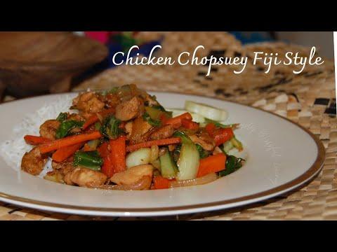 Chicken Chopsuey Fijian Style | Stir-fry Chicken with Veggies