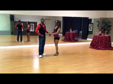 Bachata Dance - Cross Handed Turns - Learn Dance Online