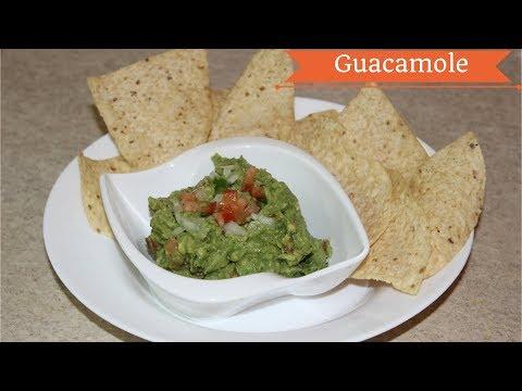 Homemade Guacamole Recipe Indian Style -Avocado Dip Recipe -Mexican Veg Avocado Guacamole Recipe