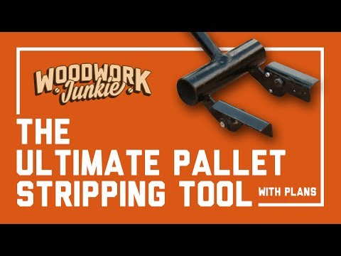 The Ultimate Pallet Stripping Tool - Breaker Plans Available