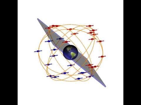 Dark matter domain wall sweeping the Earth and the GPS satellites