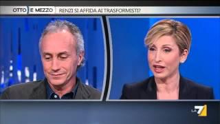 Marco Travaglio - Dorina Bianchi / Otto e mezzo 4 febbraio 2016