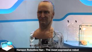 Hanson Robotics Han the most expressive robot in the world