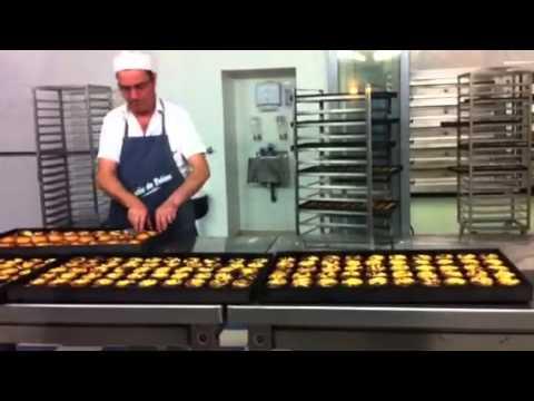 Making of Portuguese egg tarts