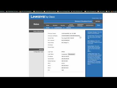 Linksys Router Port Forwading