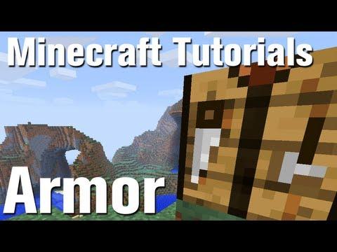 Minecraft Tutorial: How to Make Armor in Minecraft