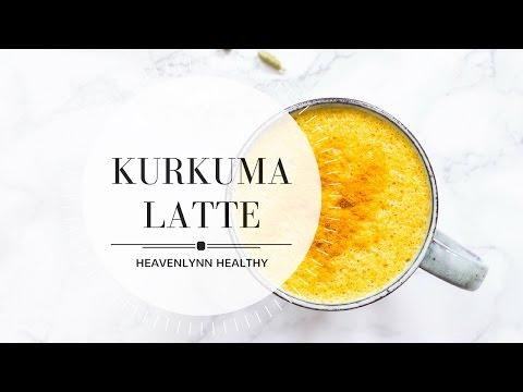 Kurkuma Latte (Goldene Milch) | Heavenlynn Healthy