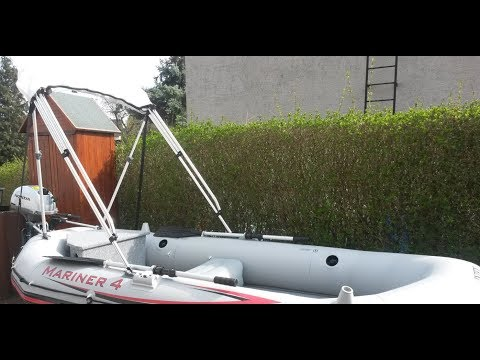Intex Mariner 4 Modification and Custom with Honda BF 2 3