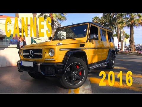 Cannes Supercar Spotting 2016