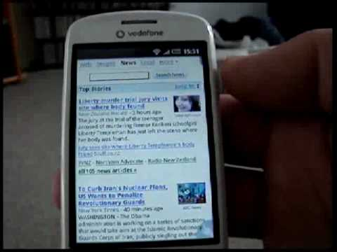 Android v1.6 (Fasttest modded ROM) (NOT) at 780MHz on HTC Magic 32B