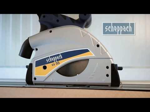 Scheppach Plunge Saw cs 55  PROFESSIONAL RESULTS even by amateur (W874)