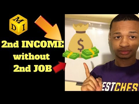 How to Create a Second Income without getting a Second Job