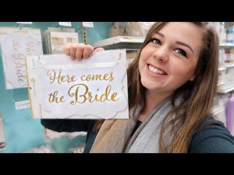 Wedding Planning AGAIN?! Bridal Shower Shopping at Target!