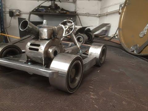 how i built my  baja go-kart ( metal art )