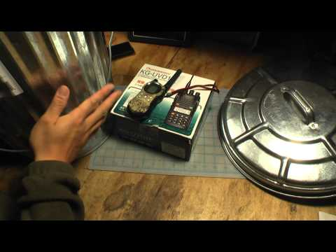 A Homemade Faraday Cage for Electronics Protection from EMP (1080p HD)