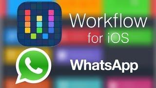 ارسال واتسب بدون تخزين الرقم عن طريق برنامج workflow