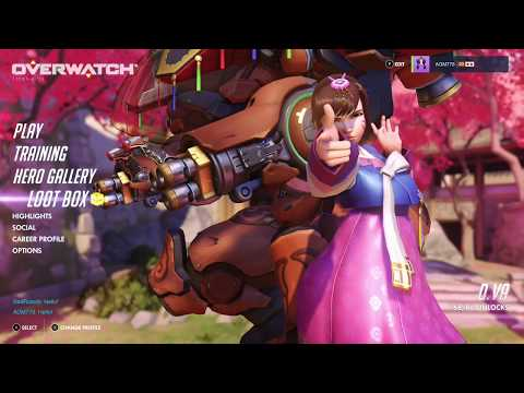Overwatch OE Daily Arcade Update Opening 5 Loot Boxes