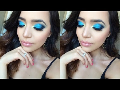 Talk-Through Summer Makeup Inspired by 'Finding Dory'   Milca Rhodes