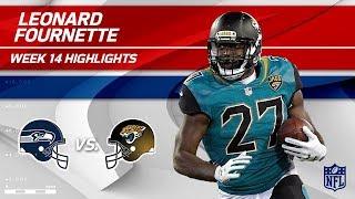 Leonard Fournette Helps Lead Jags to Victory vs. Seattle! | Seahawks vs. Jaguars | Wk 14 Player HLs