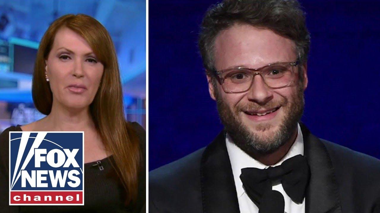 Dagen McDowell slams Seth Rogen as a 'bumbling bag of cowardice'