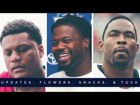 New York Giants Update:  Ereck Flowers, Snacks Harrison, & Justin Tuck