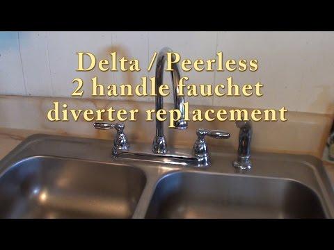 Delta / Peerless 2 handle faucet diverter replacement. RP41702