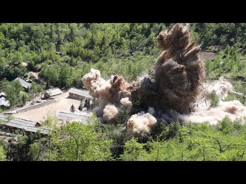 Did North Korea Actually Blow Up Its Nuclear Test Site? Here's What the Videos Show | NYT News