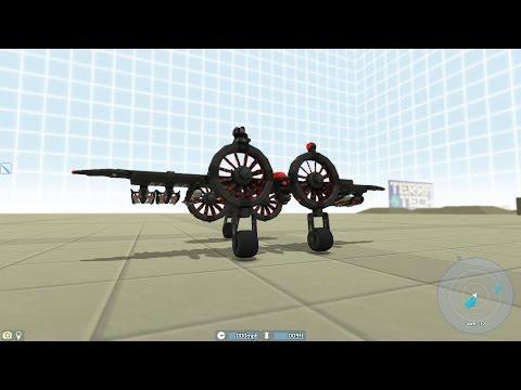 TerraTech: Hawkeye fighter plane + Charging platform