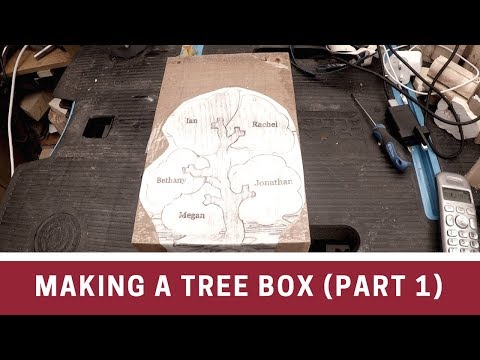 Making a tree box (part 1)