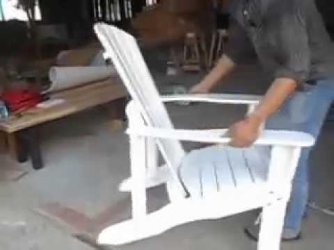 video adirondack paint