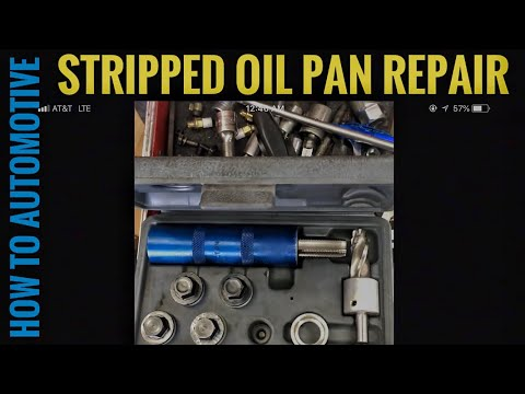 How to Repair a Stripped Out Drain Plug on a Honda