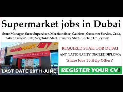 Offer Letter | Sales Jobs in Dubai for Grand Mart | Male & Female | Dubai Latest Job 2018