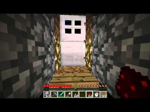 Minecraft~My Piston Elevator (50+ Blocks)
