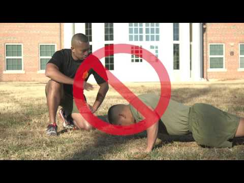 Physical Fitness Test   How to Execute a Proper Push-up
