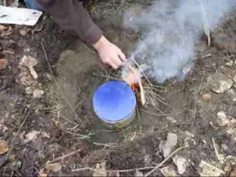 Making Oil From Birch Bark