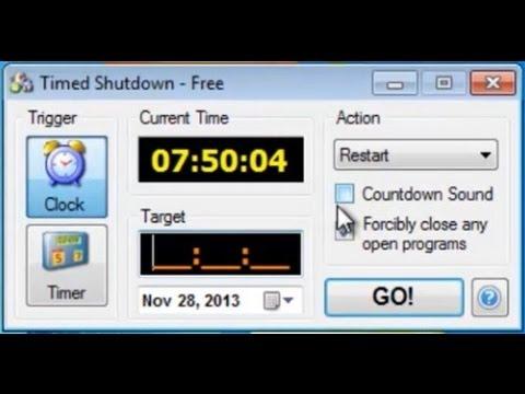 Auto PC Shut Down -  Shut Down Timer