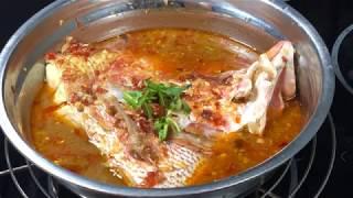 Assam (tamarind) fish head 亚参鱼头