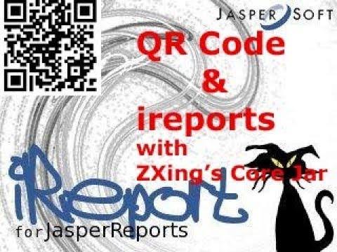 How to Add QR Code in Jasper Reports ?