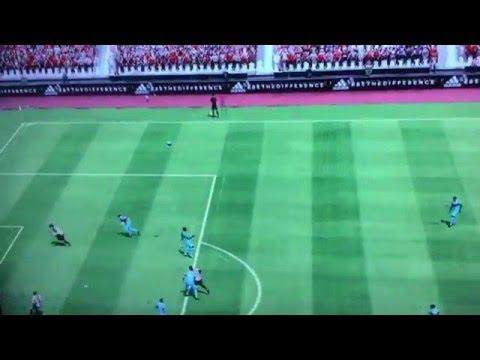 FIFA 16 - OMG Epic free kick goal.