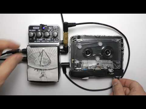 INCOMING TRANSMISSION | TAPE LOOP & DELAY PEDAL