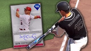 SIGNATURE JIM EDMONDS DEBUT! MLB The Show 19 Diamond Dynasty