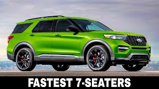 10 Fastest 7-Seater SUVs with Loads of Passenger Space and Unbeatable Top Speeds