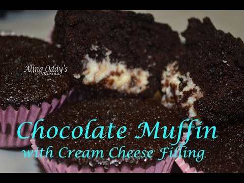 Chocolate Cupcake with Cream Cheese Filling