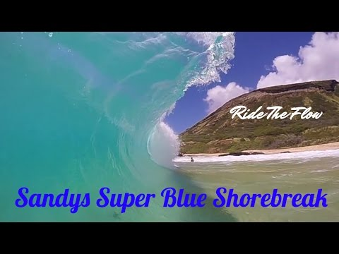 Sandys BLUE CLARITY----Hawaii Bodyboarding 3 Different Size Boards