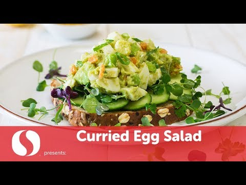 Curried Egg Salad | New Year Recipes | Safeway