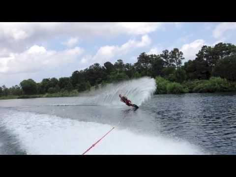 Slalom Water Ski- Transition For Better Turn