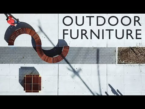 Outdoor Furniture   Made from Decking Tiles