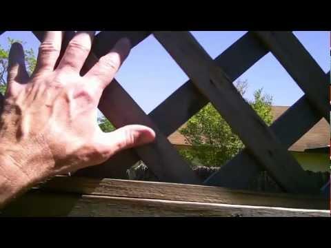 Lattice Fence - Lattice on a Stick - Trellis