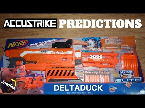 New Nerf guns: 2018 Nerf Accustrike line? Hasbro 2018 Nerf blasters justajolt thought of first + QA!