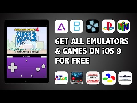 HOW TO: DOWNLOAD EMULATORS FOR iPhone iOS 9 | NO JAILBREAK | GBA, NDS, PSP, AND N64!